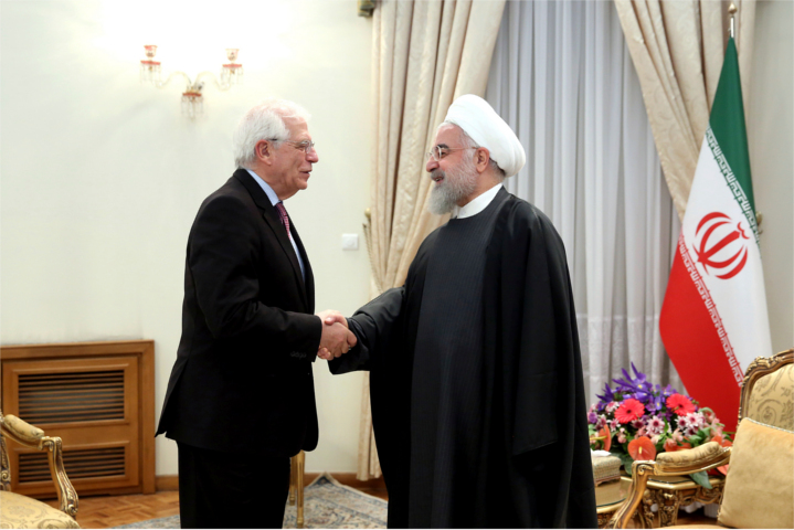 European Union (EU) foreign policy chief Josep Borrell bonds warmly with Iranian President Hassan Rouhani in Tehran last week. The next day, Borrell sharply critiqued American President Donald Trump's Middle East Peace Plan. The EU continues to feed the forces of darkness in the Middle East.