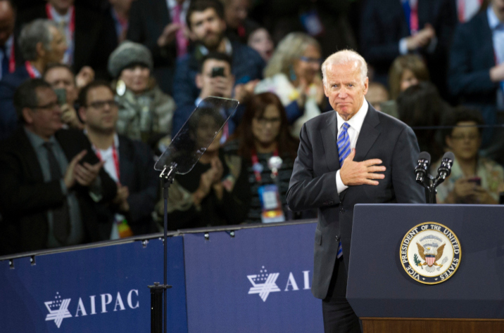 Presidential hopeful Joe Biden addressed the American Israel Public Affairs Committee (AIPAC) in March 2016 and did so again earlier this month by video conference. Aside from Michael Bloomberg (who attended in person), all other Democrat Presidential candidates refused to speak to this year's gathering of some 18,000 pro-Israel activists.