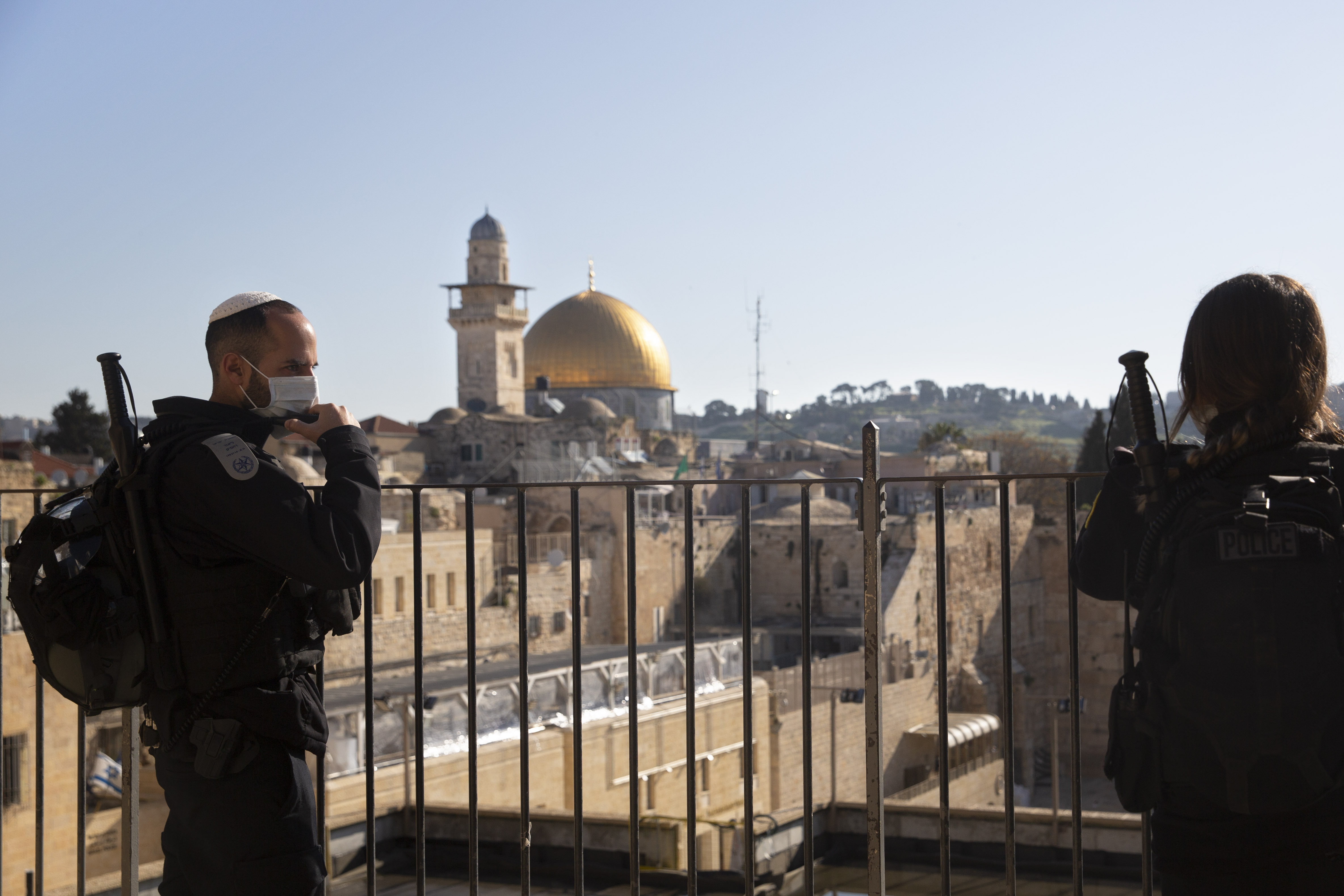 Israeli police enforce a nationwide lockdown on Passover to suppress spread of the coronavirus. Despite Israelis' high compliance with the nation's strict restrictions, police issued more than 2,000 fine citations to violators over the holiday.
