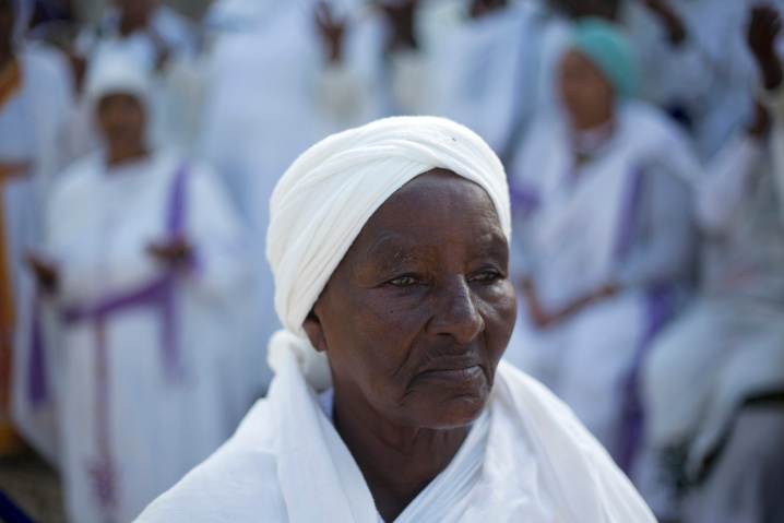 More than half of Israel's Jewish population trace their direct ancestry to the Middle East, Asia and North Africa, like this Ethiopian Jew celebrating the holy day of Sigd in Jerusalem. In addition, some 20% of Israelis are Arab Muslims, Christians and Druze, making Israel by far the most diverse country in the Middle East.
