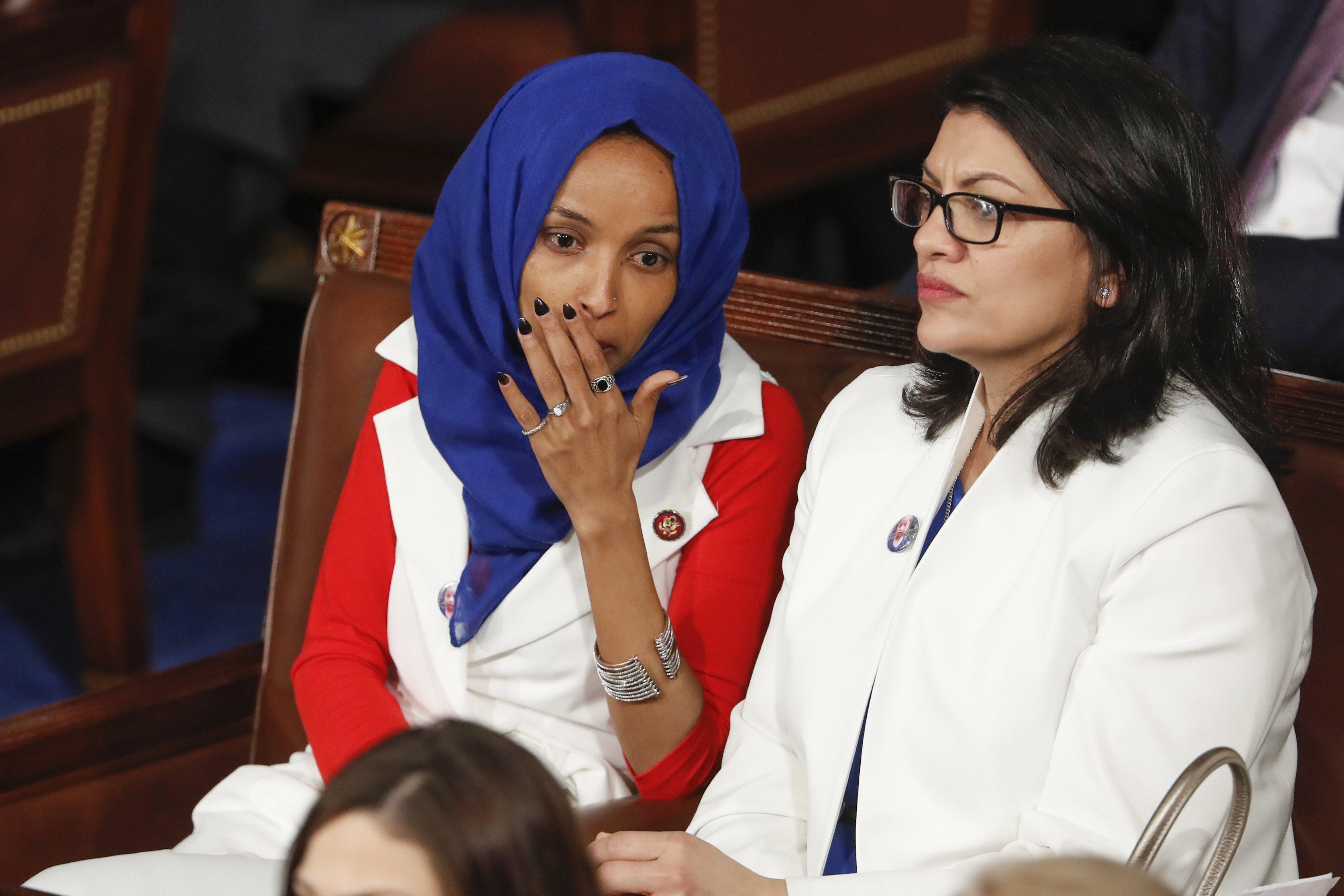 Ilhan Omar and Rashida Tlaib, U.S. Representatives