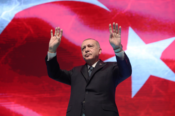 Turkish strongman President Recep Tayyip Erdogan is de-democratizing Turkey and pursued an Islamist strategy at home and abroad, particularly in Syria and Libya, and he cultivates relations with Hamas and the Palestinian Authority—all contrary to U.S., European and NATO interests.