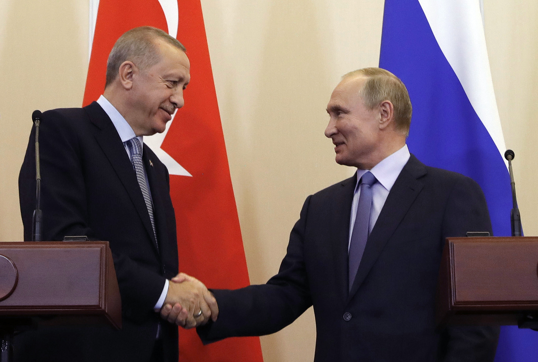 Turkey's President Erdogan and Russia's President Putin cement their alliance in Syria, one more step that threatens the goals of the U.S. and its allies and underscores the wisdom of expelling Turkey from NATO.