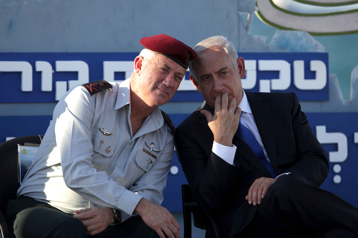 In more cordial Israeli pre-electoral times, then-IDF Chief of Staff Benny Gantz (Lt. Gen.-ret.) talks with his boss, Prime Minister Bibi Netanyahu. Now, the two Benjamins are fighting one another to become Israel's next Prime Minister. Gantz out-polled Netanyahu in last week's Knesset election, with 33 seats to Bibi's 31. Who will be the next Israeli Prime Minister? Ironically, with only eight seats in the new Knesset, Russian-Israeli leader Avigdor Lieberman may well decide.